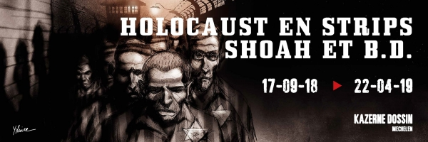 Expo Holocaust en strips