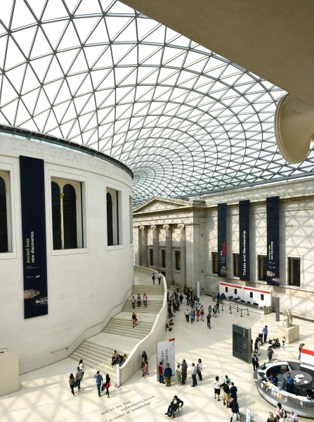 The British Museum. Foto: hurk via Pixabay