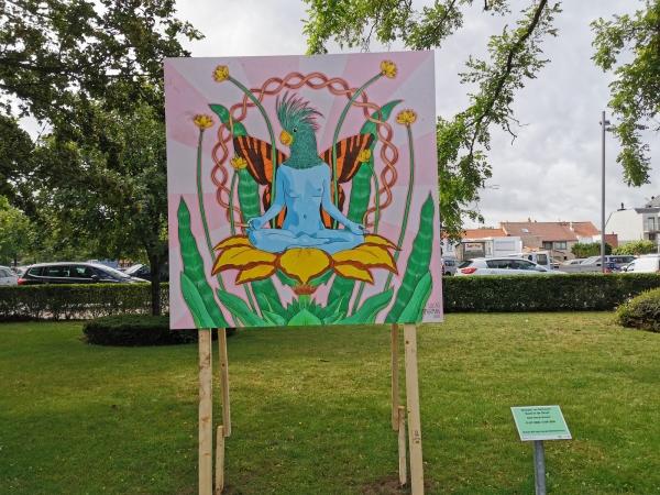 Street art De Panne