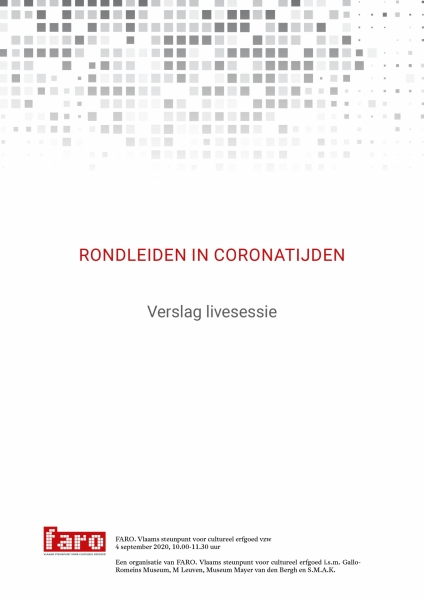 Cover brochure live-sessie