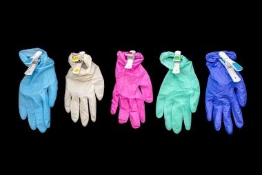 Nitril handschoenen kleur