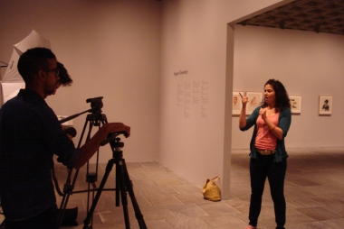 Opname Vlog in tentoonstelling Hopper Drawing, The Whitney Museum, New York