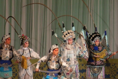 Scène uit Peking Opera, smartneddy via Wikimedia Commons, CC BY-SA 3.0