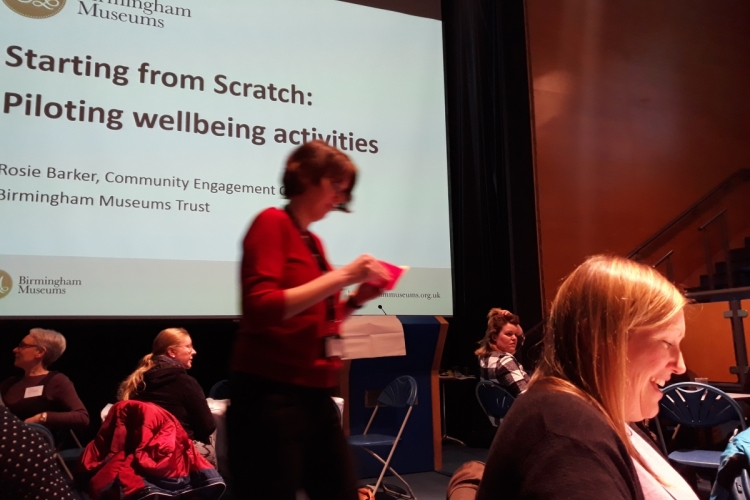 Musuems, health and wellbeing conference