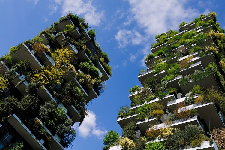 Bosco verticale, Milaan. Marco Sala via Wikimedia Commons, CC BY-SA 4.0