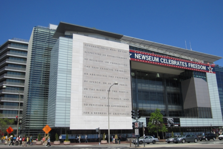 Foto: Newseum. Wikimedia Commons, Another Believer, CC-BY-SA-3.0