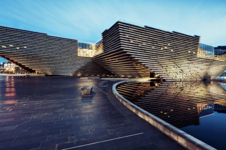 Museum V&A Museum of Design in Dundee, open vanaf 09/2018 (gesponsord door Heritage Lottery Fund) Copyrights foto:Ross Fraser Mclean