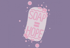 Soap = hope. United Nations COVID-19 Response via Unsplash.com