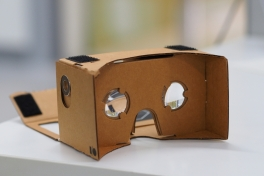 Google Cardboard. othree via Wikimedia Commons, CC BY 2.0