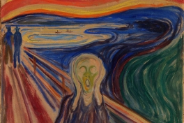 Edvard Munch, De Schreeuw (ca.1910). Collectie Munch Museum. Google Art Project / Wikimedia Commons, publiek domein.