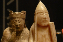 The Lewiss Chessmen - British Museum (c) Wikimedia By Nachosan - Own work, CC BY-SA 3.0