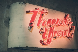 Thank you! Foto: Ryan McGuire via Pixabay