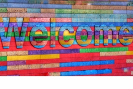 Welcome. Foto: Belinda Fewings via Unsplash